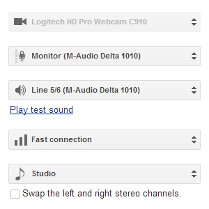 Google Hangouts on Air: Audio Setup Guide for Studio Mode